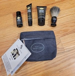 NWT The Art Of Shaving Unscented Travel Kit